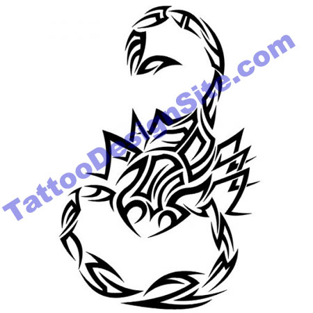 Tattoo Designs Scorpion