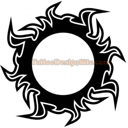 Check out this Celtic sun tattoo and rate the Celtic tattoo design.