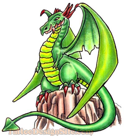 Free Tattoo Designs Dragon